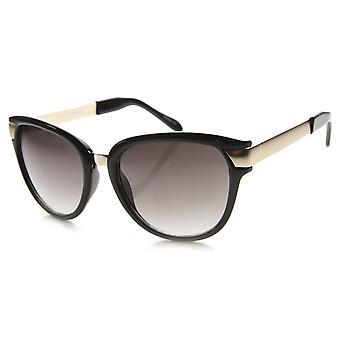 Womens Cat-Eye-Sonnenbrille mit UV400 Schutz Gradient Lens