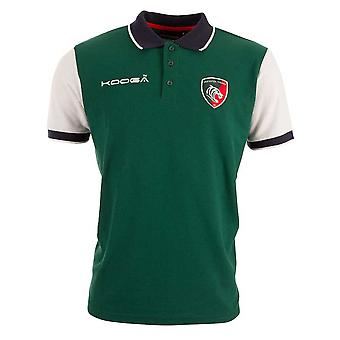 KOOGA Leicester Tigers Classic Polo Shirt [Green/white]