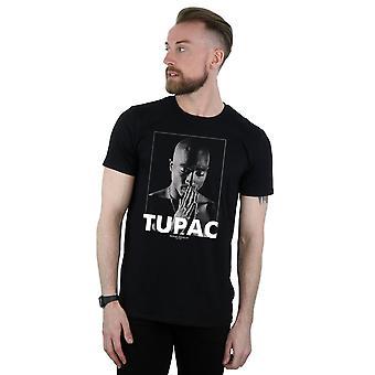2Pac Men's Tupac Shakur Praying T-Shirt