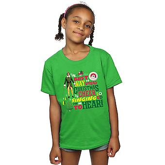 Elf Girls Christmas Cheer T-Shirt