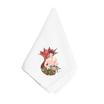 Carolines Treasures  8348NAP Merman Napkin