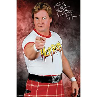 WWE の-騒々しいロディパイパー ポスター ポスター印刷
