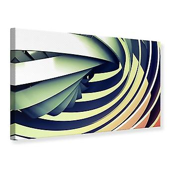 Canvas Print abstracte vooruitzichten