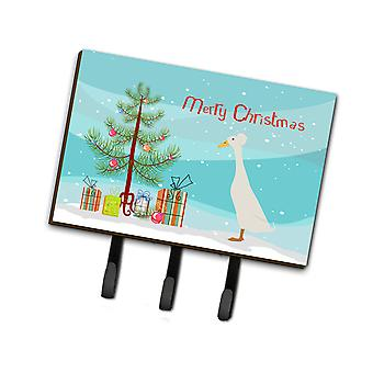 Carolines Treasures  BB9226TH68 Bali Duck Christmas Leash or Key Holder