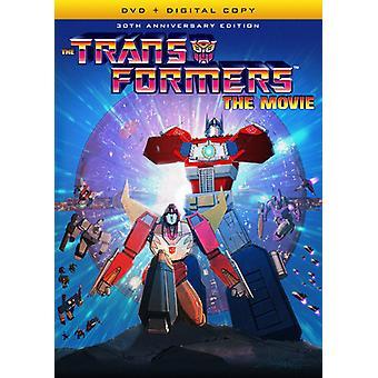 Transformatorer: Filmen (30th Anniversary Edition) [DVD] USA import