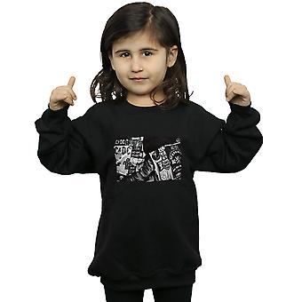 AC/DC Girls Badges And Posters Collection Sweatshirt