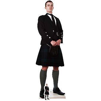 Scottish Man in Kilt Lifesize Cardboard Cutout / Standee / Standup / Standee