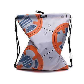 Star Wars l'ultimo Jedi Bb-8 Gymbag bianco Casual Daypack 28cm 20L multicolore