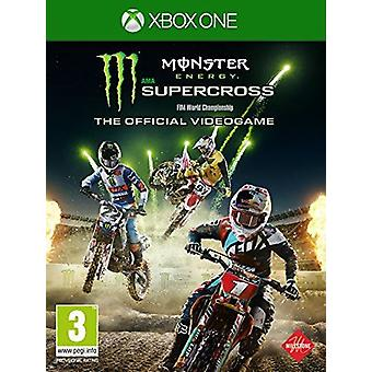 Monster Energy Supercross - de officiële Videogame Xbox een Game