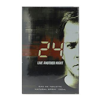 ScentStory 24 Live Another Night Eau De Toilette Spray 3.4Oz New In Box