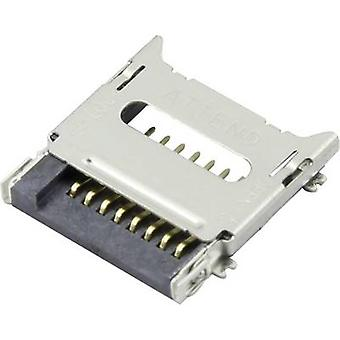 Attend microSD Card connector Flap 112C-TBAR-R02 1 pc(s)