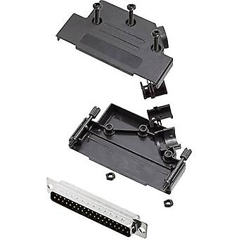 encitech D45PK-P-37-DBP-K 6355-0034-04 D-SUB PIN strip set 45 ° aantal pinnen: 37 soldeer emmer 1 set
