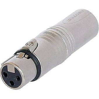 Neutrik NA3FM XLR adapter XLR-uttag - XLR-kontakt 1 st