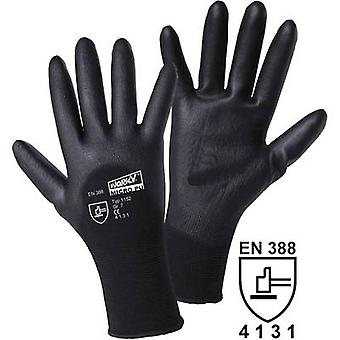 L+D worky MICRO black 1152 Nylon Protective glove Size (gloves): 10, XL EN 388 CAT II 1 pair