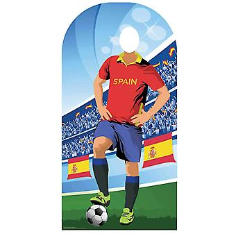 World Cup 2018 Espanja Jalkapallo Pahvi Cutout / Standee Stand-in