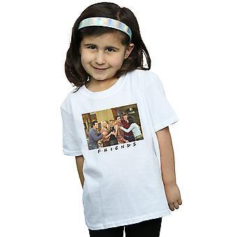 Mädchen Gruppe Freunde Foto Wohnung T-Shirt