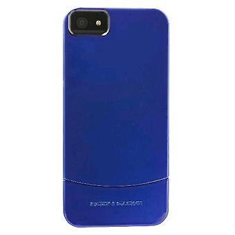 """حزمة 5-هيئة """"قفاز فيبي منزلق حالة"""" لابل أي فون 5 (أزرق)"""