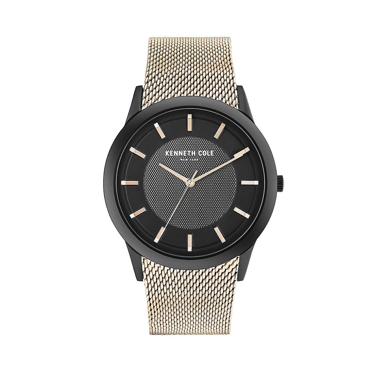 Kenneth Cole New York Herren Uhr Armbanduhr Edelstahl KC50566002