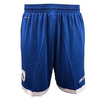 2018-2019 Cypern Macron hem Shorts (blå)