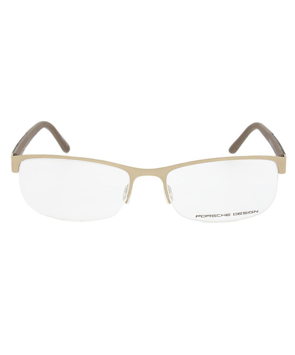 Porsche Design P8242 B Rectangular | Beige| Eyeglass Frames