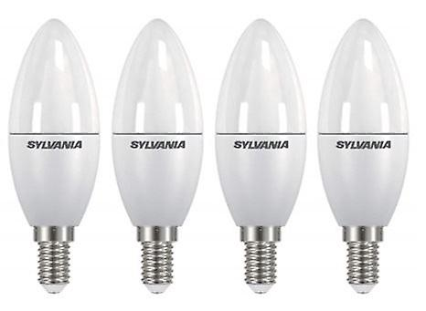 4 x Sylvania ToLEDo Candle Dimmable E14  Homelight LED 470lm [Energy Class A+]