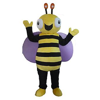 SPOTSOUND of black and yellow, very cheerful bee mascot