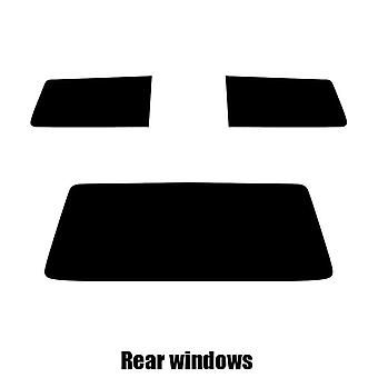 Pre cut window tint - VW Polo 3-door Hatchback - 1981 to 1994 - Rear windows