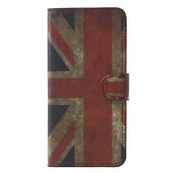 Samsung Galaxy S9 G960 portafoglio sacchetto-Vintage UK bandiera