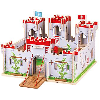 Bigjigs leker King George's Castle - middelalderslott Playset