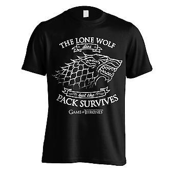 Gioco di troni t-shirt il Lone Wolf questo