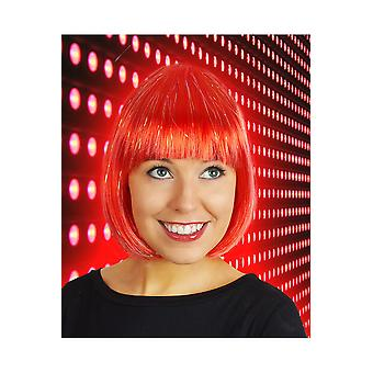 Wigs  Red bob wig with glitter