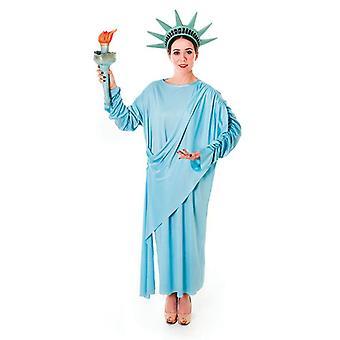 Freiheitsstatue Liberty Kostüm, Unisex