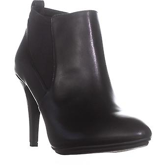 Alfani dame Steviee læder lukket tå ankelstøvler mode
