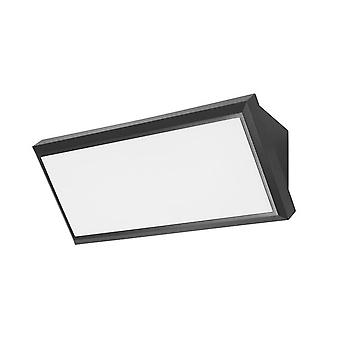 Forlight - Samper negro LED exterior pared luminaria PX-0353-NEG