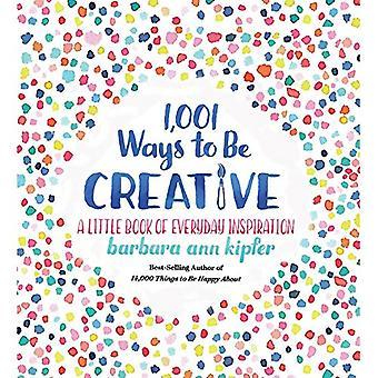 1-001 maneiras de ser criativo por Barbara Ann Kipfer - 9781426219078 livro