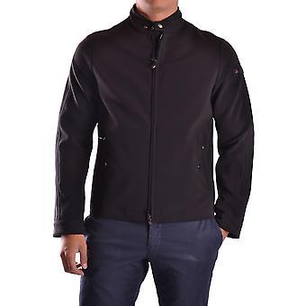 Peuterey Ezbc017007 Men's Black Polyester Outerwear Jacket