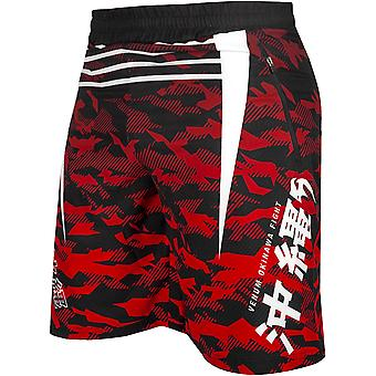 Venum Okinawa 2.0 Training Shorts - Black/White/Red