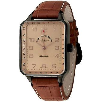 Reloj Zeno-watch SQ especiales puntero fecha negro 131Z-bk-f6