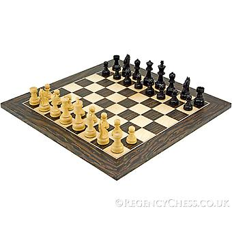 Emerald Series Ebony Chess Set