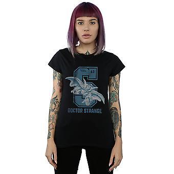 Marvel Women's Doctor Strange collegiale T-shirt