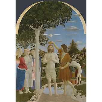 The Baptism of Christ, Piero della Francesca, 60x42cm