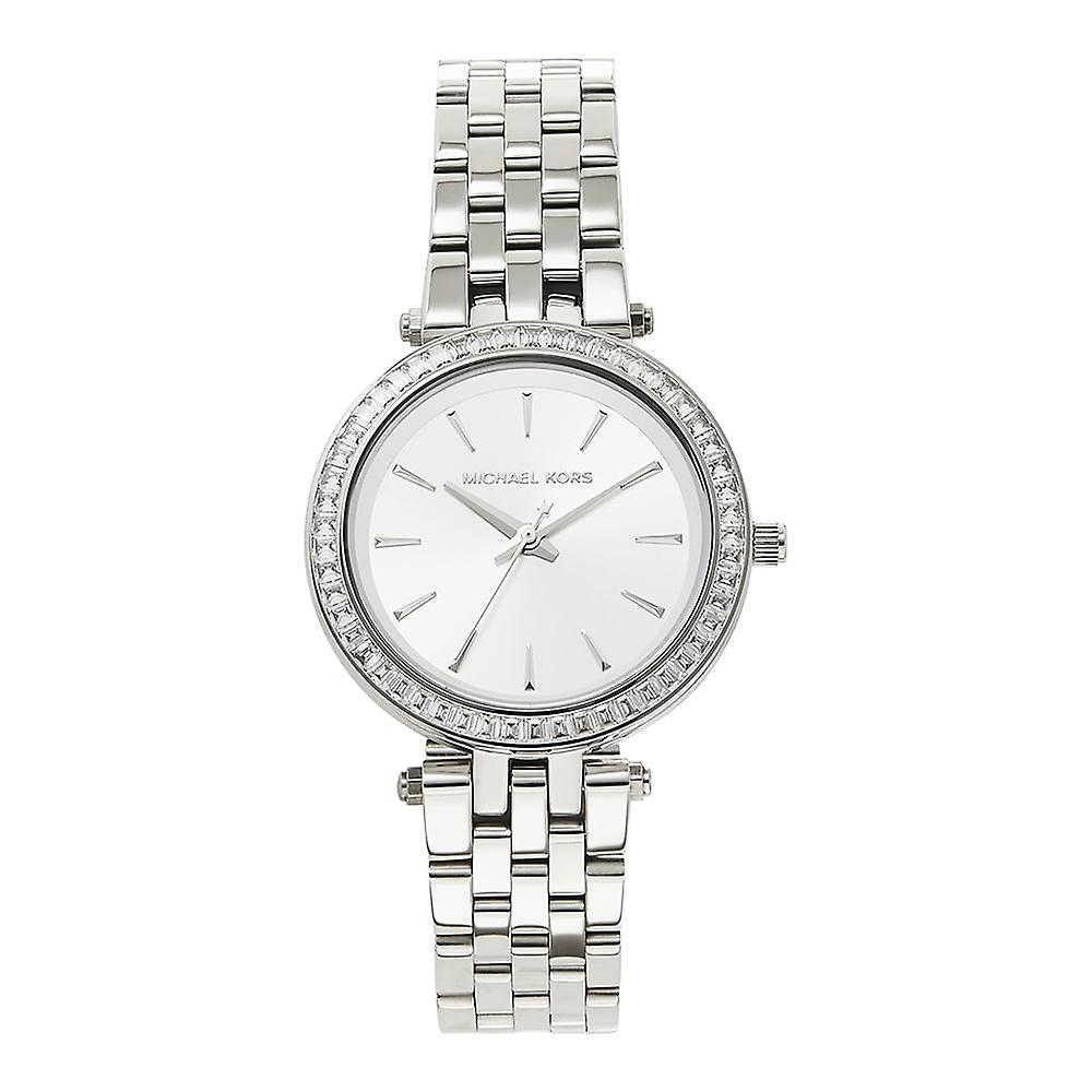 Michael Kors Watches Mk3364 Mini Darci Silver Tone Stainless Steel Ladies Watch