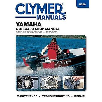 Yamaha 6-10hp Clymer Four Stroke Outboard Engine Repair Manual by Ano