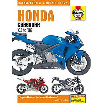 Honda CBR600RR Service and Repair Manual - 9781785210020 Book