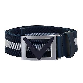 Callaway Mens 2020 Golf Chev Striped Logo Belt