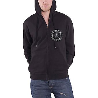 Gas Monkey Garage Hoodie GMG Logo Kustom Builds new Official Mens Black Zipped