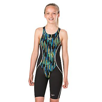 Speedo Girl es Speedo Fastskin Junior Lzr Racer X Jammer Swimwear For Girls
