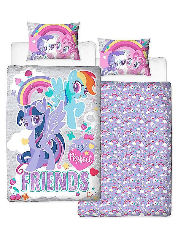 My Little Pony Crush Single Duvet Cover Set - Panel Design