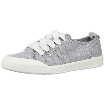 Madden Girl Womens Dot Fabric Low Top Lace Up Fashion Sneakers