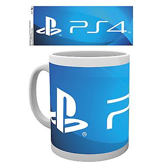 PlayStation PS4 Logo Boxed drinken mok